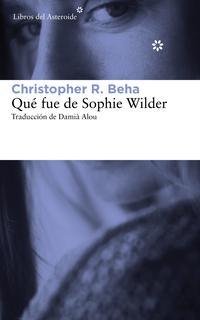 Libro QUE FUE DE SOPHIE WILDER