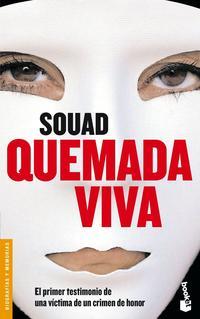 Libro QUEMADA VIVA