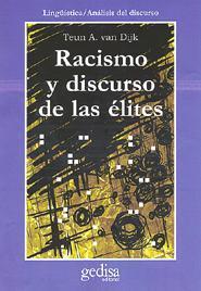 Libro RACISMO Y DISCURSO DE LAS ELITES