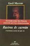 Libro RASTROS DE CARMIN