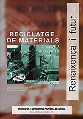 Libro RECICLATGE DE MATERIALS