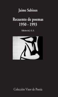 Libro RECUENTO DE POEMAS: 1950-1993