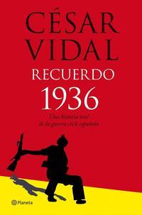 Libro RECUERDO 1936