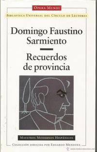 Libro RECUERDOS DE PROVINCIA