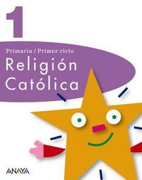 Libro RELIGION CATOLICA 1.
