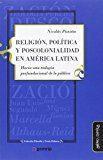 Libro RELIGIÓN, POLÍTICA Y POSCOLONIDALIDAD EN AMÉRICA LATINA