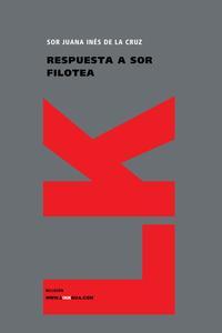 Libro RESPUESTA A SOR FILOTEA
