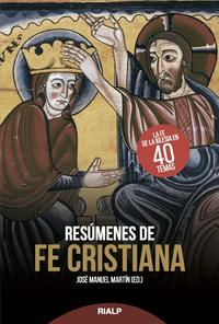 Libro RESÚMENES DE FE CRISTIANA