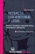 Libro RETRACTO CONVENCIONAL Y LEGAL
