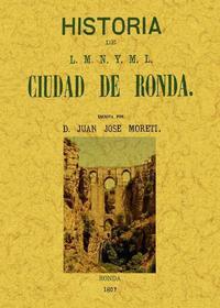 Libro RONDA: HISTORIA DE L.M.N. Y M.L. CIUDAD