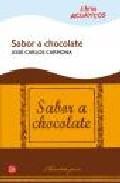 Libro SABOR A CHOCOLATE