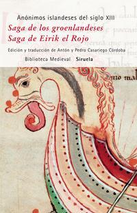 Libro SAGA DE LOS GROENLANDESES/ SAGA DE EIRIK EL ROJO