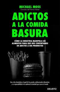 Libro SALT SUGAR FAT: ADICTOS A LA COMIDA BASURA