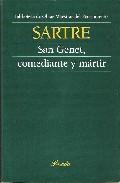 Libro SAN GENET, COMEDIANTE Y MARTIR