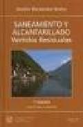 Libro SANEAMIENTO Y ALCANTARILLADO, VERTIDOS