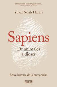 Libro SAPIENS: DE ANIMALES A DIOSES