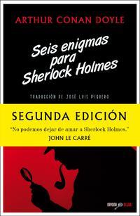 Libro SEIS ENIGMAS PARA SHERLOCK HOLMES