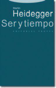 Libro SER Y TIEMPO
