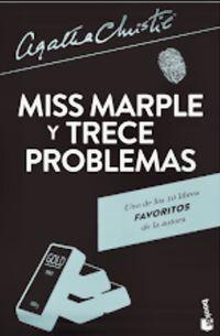 Libro SEÑORITA MARPLE Y TRECE PROBLEMAS