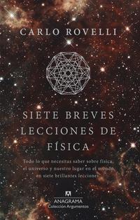 Libro SIETE BREVES LECCIONES DE FÍSICA