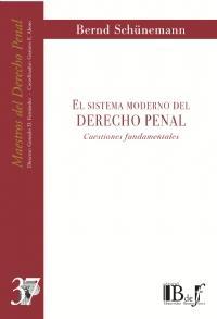 Libro SISTEMA MODERNO DEL DERECHO PENAL: CUESTIONES FUNDAMENTALES