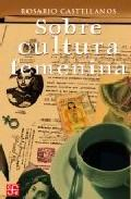 Libro SOBRE CULTURA FEMENINA