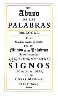 Libro SOBRE EL ABUSO DE LAS PALABRAS