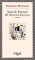 Libro SOBRE EL PORVENIR DE NUESTRAS ESCUELAS