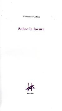 Libro SOBRE LA LOCURA