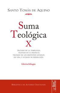Libro SUMA TEOLOGICA X