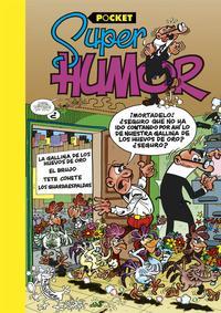 Libro SUPER HUMOR MORTADELO Y FILEMON: LA GALLINA DE LOS HUEVOS DE ORO VI. POCKET