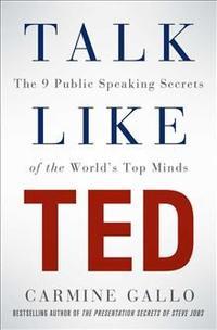 Libro TALK LIKE TED