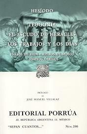 Libro TEOGONIA