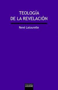 Libro TEOLOGIA DE LA REVELACION