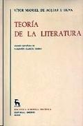 Libro TEORIA DE LA LITERATURA