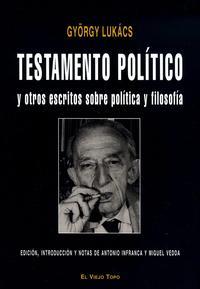 Libro TESTAMENTO POLITICO Y OTROS ESCRITOS SOBRE POLITICA Y FILOSOFIA