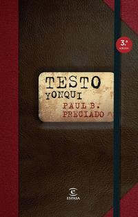 Libro TESTO YONQUI
