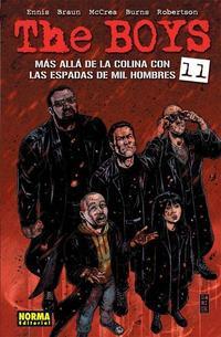 Libro THE BOYS 11: MAS ALLA DE LA COLINA CON LAS ESPADAS DE MIL HOMBRES