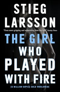 Libro THE GIRL WHO PLAYED WITH FIRE