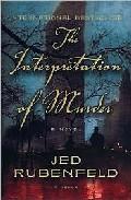 Libro THE INTERPRETATION OF MURDER