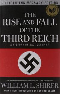Libro THE RISE AND FALL OF THE THIRD REICH: A HISTORY OF NAZI GERMANY