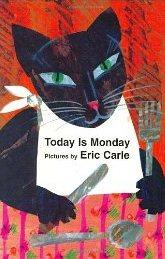 Libro TODAY IS MONDAY