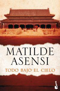Libro TODO BAJO EL CIELO
