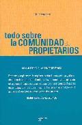 Libro TODO SOBRE LA COMUNIDAD DE PROPIETARIOS