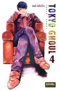 Libro TOKYO GHOUL 4