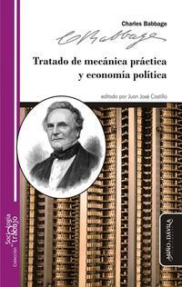 Libro TRATADO DE MECANICA PRACTICA Y ECONOMIA POLITICA