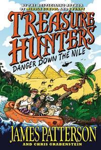 Libro TREASURE HUNTERS 2: DANGER DOWN THE NILE