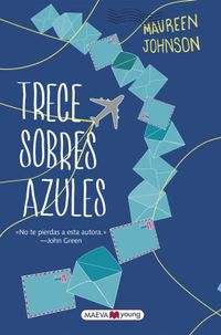 Libro TRECE SOBRES AZULES