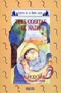 Libro TRES COSITAS DE NADA