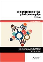 Libro UF0346 - COMUNICACION EFECTIVA Y TRABAJO EN EQUIPO